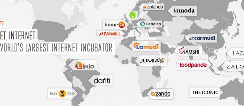 carte des startups rocket internet allemands freres samwer